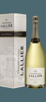 BLANC DE BLANCS GRAND CRU - MAGNUM - CHAMPAGNE LALLIER - COM ESTOJO
