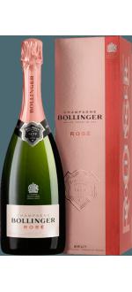CHAMPAGNE BOLLINGER - BRUT ROSE - COM ESTOJO