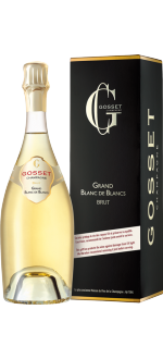 CHAMPAGNE GOSSET - GRAND BLANC DE BLANCS - COM ESTOJO