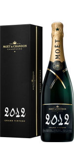 CHAMPAGNE MOET & CHANDON - GRAND VINTAGE 2012 - COM ESTOJO