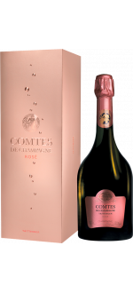 COMTES DE CHAMPAGNE ROSE 2007 - EN COFFRET - CHAMPAGNE TAITTINGER