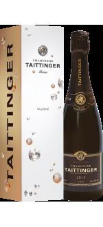 CHAMPAGNE TAITTINGER - COLHEITA 2014 - COM ESTOJO