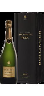 CHAMPAGNE BOLLINGER - CUVEE R.D. 2007 - COM COFFRET