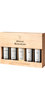 COFFRET 5 GARRAFAS MOUTON CADET RESERVE PANACHE - BARON PHILIPPE DE ROTHSCHILD